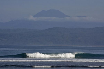 surf Krui Reefs in krui south sumatra