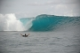 a beautiful wave to surf in krui at paradise surf camp in south sumatra