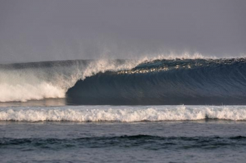 surf Ujung Bocur in krui south sumatra
